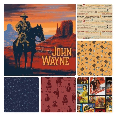 "<span style=""font-size: 26px; color: rgb(128, 0, 0);"" class=""increase-size"">John Wayne from Riley Blake</span><br>"